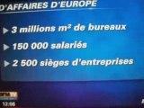 Jean Sarkozy a la tete de l epad - polémique