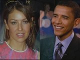 Thalia at the White House Dancing with Barack Obama