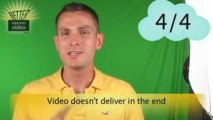 Biggest Mistakes of Amateur Web Video