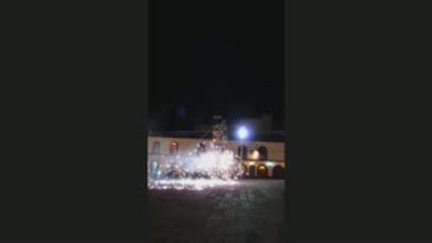 Feu d'artifice à Puno