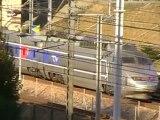 TGV Sud Est : Arrivée à la gare de Marne la Vallée Chessy