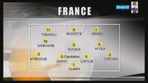 Belgique-France qualif Euro 2011 U21 (13 oct 2009)