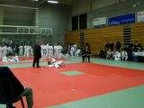 axel 3ème combat judo braine l'alleud le 17 oct 2009