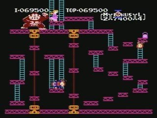 Concours Donkey Kong Nes