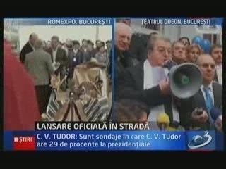 "Corneliu Vadim Tudor: ""Basescu i-a injurat pe israelieni"""