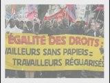 PCF Paris 17 Soutien sans papiers