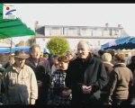 Inauguration du marché de Marigny-les-Usages