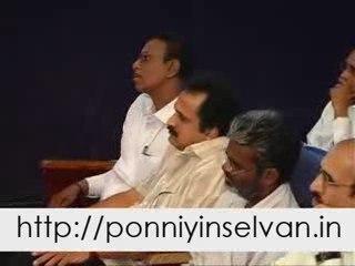08 Ponniyin Selvan Varalaatru Pervai Vizha 2009 Morning