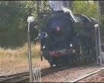 Langon Arcachon en train à vapeur partie 7