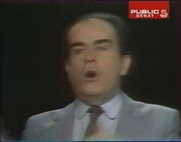 Georges Marchais contre Elkabbach et Alain Duhamel
