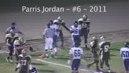 Parris Jordan Football Highlights