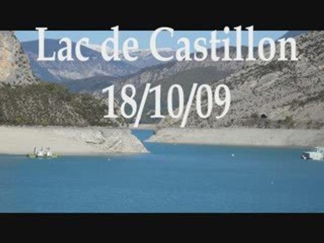 Lac de castillon 18 Oct 09