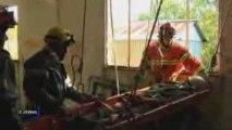 Les sapeurs-pompiers toujours sur le terrain (La Réorthe)