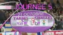 LFB J5 : TARBES / CHALLES 21 OCTOBRE 2009