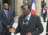 Françafrique: le Mollah Nicolas reçoit Idriss Déby-Le-Mental