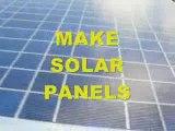 Homemade Solar Panels - Easy to Make Solar Panel System