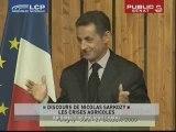 Discours de Nicolas Sarkozy sur Les Crises Agricoles