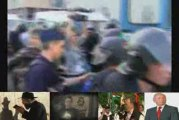 Brutális rendőr erőszak