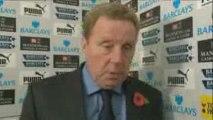 Harry Redknapp Interview - Tottenham 0-1 Stoke Oct 2009