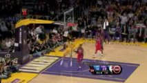 NBA Jordan Farmar steals the inbound pass and finishes with