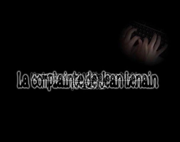 la complainte de Jean Lenain
