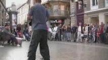 Street Show à Bordeaux avec Bboy Lolo & Funkyhousbreaker
