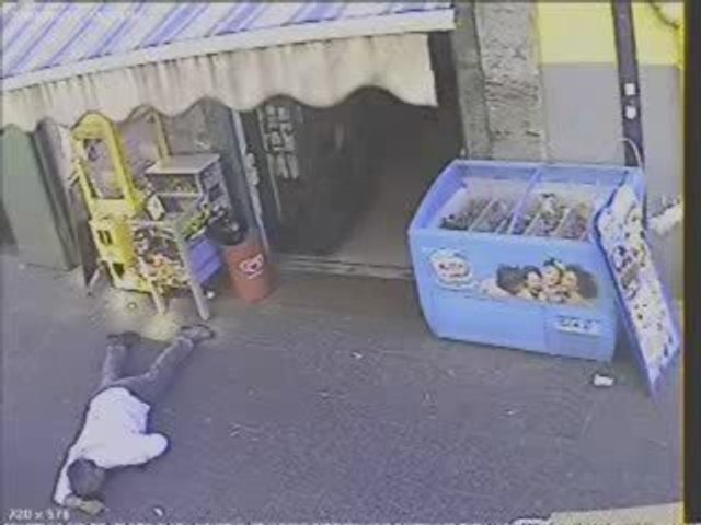 Видеозапись казни босса мафии