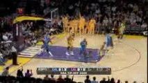 NBA Kobe finds Lamar Odom, who finds Andrew Bynum for the fl