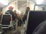 Pété dans le RER D
