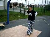 BBoy K en mode coupole à la break street 84
