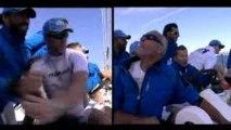 Record mondiale de vitesse à la voile avec l'hydroptère...