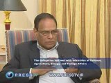 Press tv-An exclusive interview with Ebrahim Ismaeel Ebrahim
