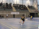Match du Red Star Mulhouse vs Grand Synthe Badminton