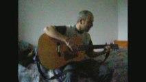 gerald de palmas (une seule vie)guitare débutant.