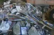 Recyclage de skis en Savoie Mont Blanc