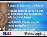 """Télézapping : """"Chirac ne se lâche pas, il se livre"""""""