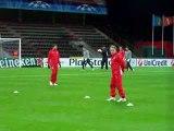 Το SPORT 24 με τον Ολυμπιακό στη Λιέγη - Προπόνηση (3)