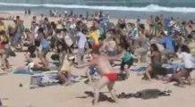 Flash Mob sur une plage à Sydney