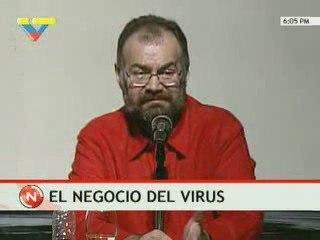 Ministro denuncia el negocio de la Gripe A
