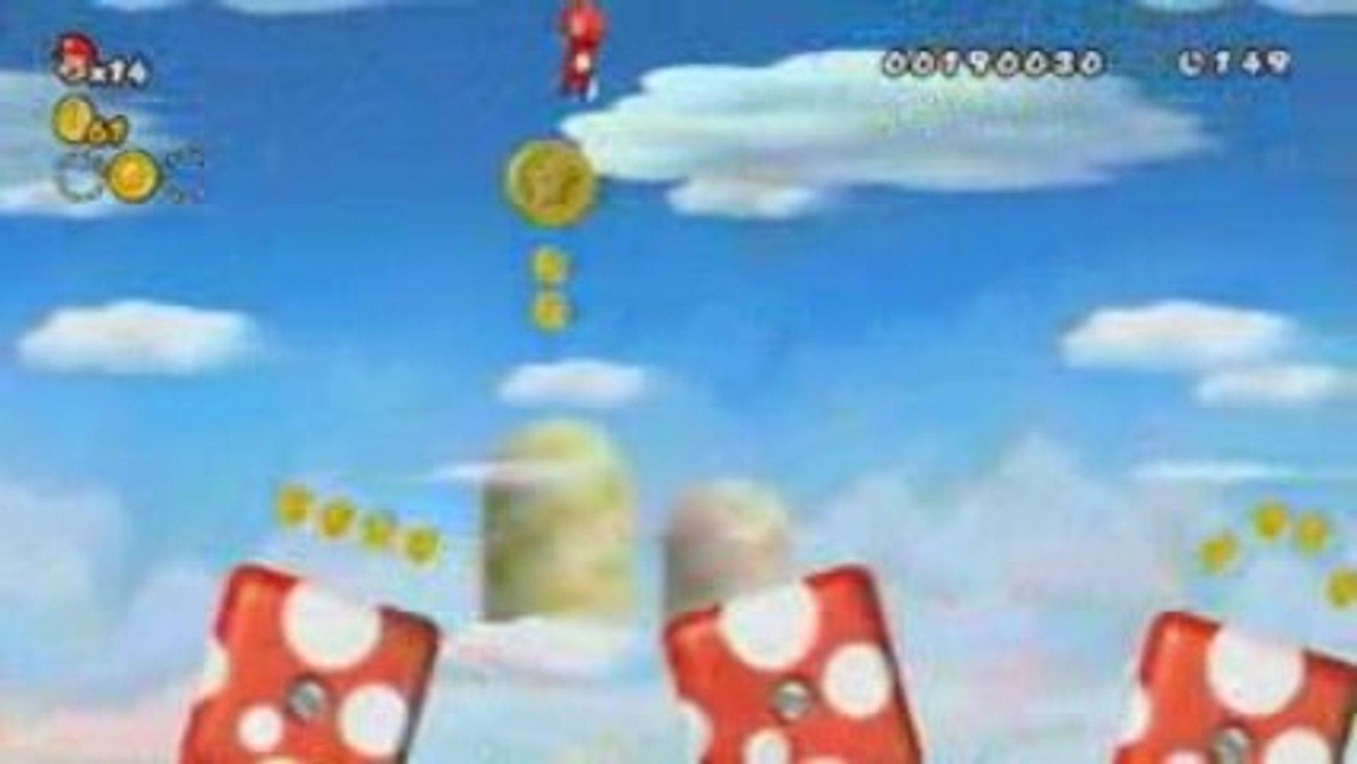 New Super Mario Bros. Wii - Propeller Suit Trailer