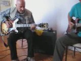 Stage blues 2009 Tournon - Bruno et Remy