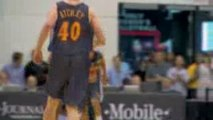 NBA Stephen Curry made his NBA debut against Houston on Open