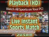 Live TV Sports Streaming: Watch Live Sports Streams