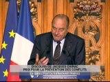 EVENEMENT,Discours de Jacques Chirac à la Fondation Chirac