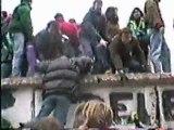 Thierry à Berlin pour la chute du mur en 1989