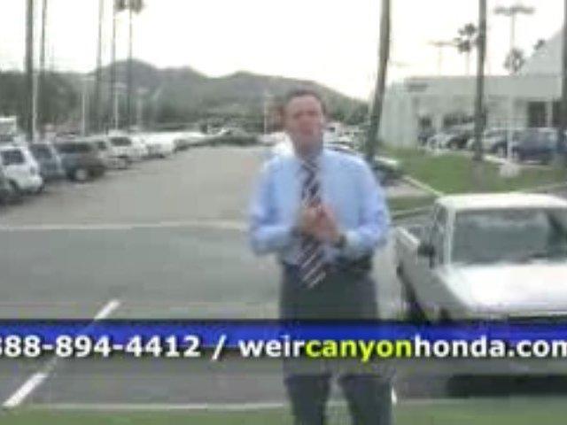 Weir Canyon Honda Anaheim New Hondas Hondas