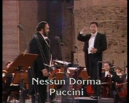 Nessun Dorma Luciano Pavarotti