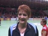 HBC Nîmes-Elda: M.Ilie réagit (Handball Coupe d'Europe)