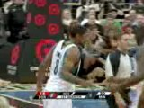 NBA Ryan Gomes hits a deep 3-pointer at the buzzer to end th