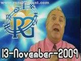 RussellGrant.com Video Horoscope Aries November Friday 13th